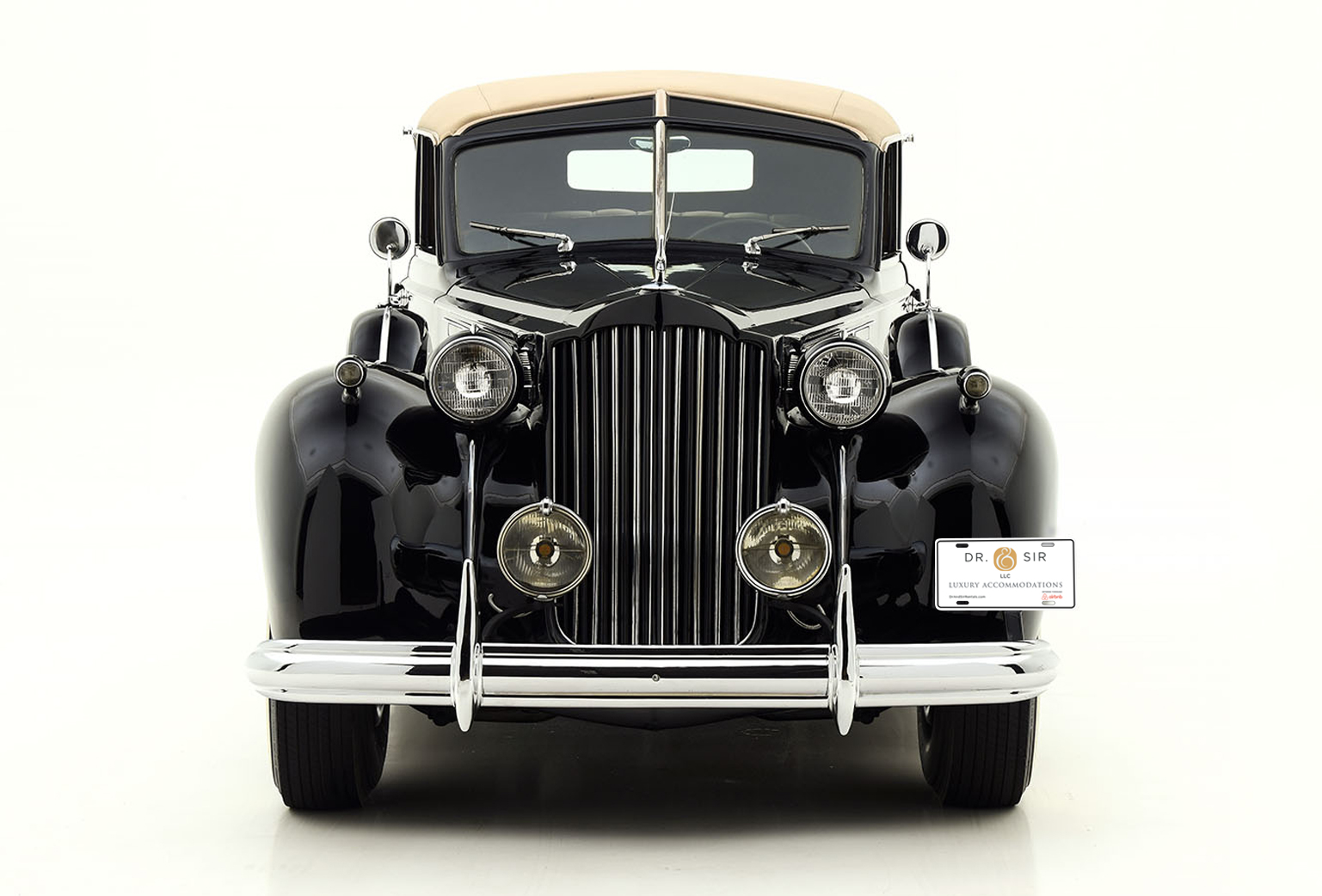 Luxury Dr. & Sir Accommodations Now Offer Guests Chic Vintage Transport: A Chauffeur-Driven 1939 Packard
